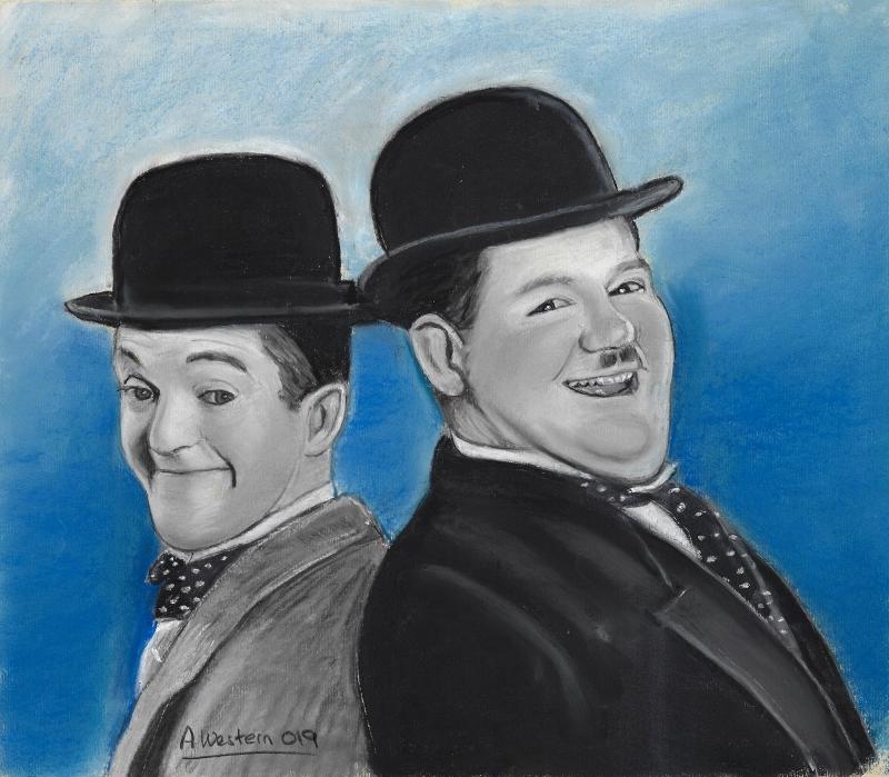 Laurel & Hardy by western61
